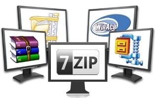 Alternativas a WinRAR y WinZIP