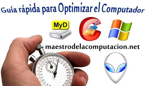 Guía para optimizar el computador