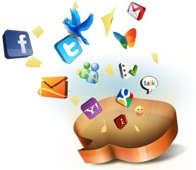 Administra tus redes sociales y correo con LiveGo