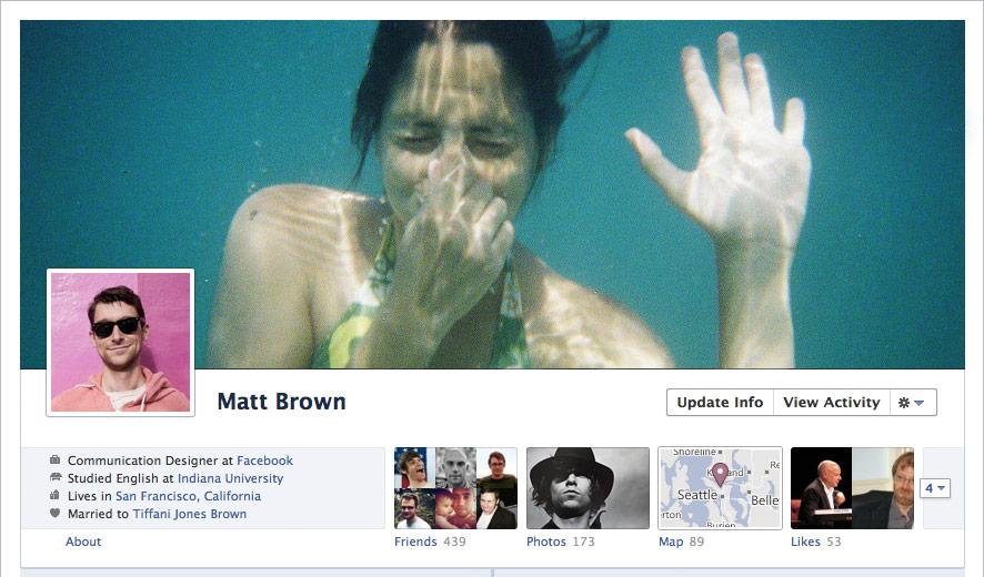 Nuevos cambios en tu perfil de Facebook con el Timeline