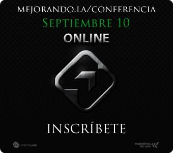 Conferencia online sobre HTML5, CSS3, Javascript y Python