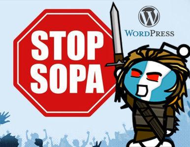 Gran Protesta en la Red en contra de #SOPA