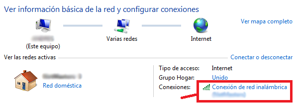 DNS en Windows7