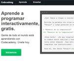 Codecademy, plataforma para aprender a programar desde cero