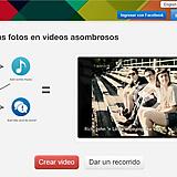 Picovico, aplicación web para hacer vídeos con fotos