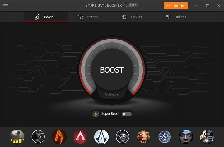 Smart Game Booster, una herramienta para mejorar el rendimiento al jugar